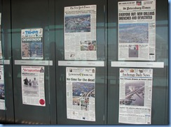 1473 Washington, D.C. - Newseum - Covering Katrina Exhibit