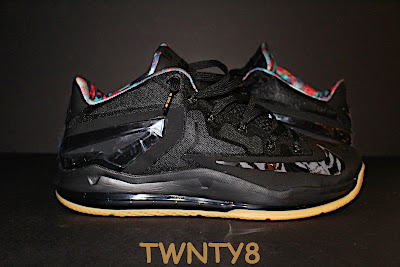 nike lebron 11 low gr black hyper crimson 3 01 Detailed Look at the Nike LeBron 11 Low Neutral