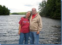 7309 Restoule Provincial Park - Stormy Lake boat launch - Karen & Bill