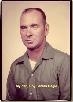 Roy Leman Cagle with text