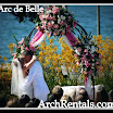 Wrought Iron Wedding Arch Rentals by Arc de Belle,at Coronado, Los Angeles,Orange County,San Diego,Phoenix,Orlando,Miami,South Florida,Joshua Aull Photography.jpg