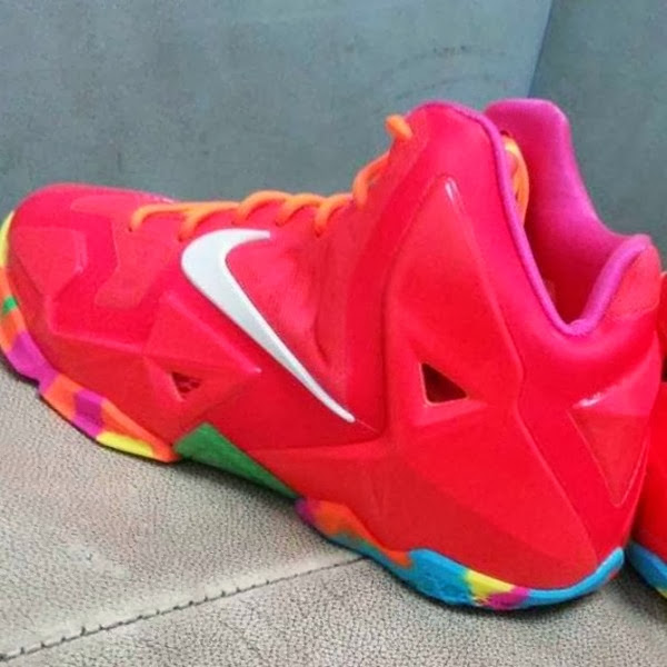 Nike LeBron XI 11 GS 8220Fruity Pebbles8221 8211 First Look