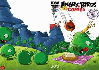 Actualización 01/02/2015: Angry Birds - Floyd Wayne y K0ala nos traen Angry Birds #07