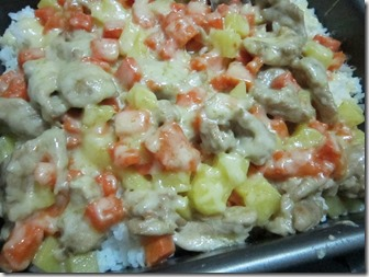 mb's baked chicken casserole, 240baon
