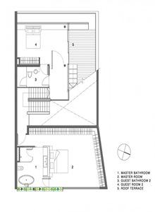 cubierta-plano-casa-con-cubierta-inclinada
