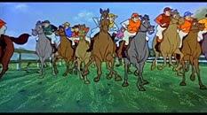 32 les chevaux de course