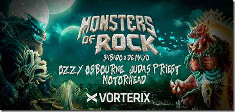 Monsters of Rock 2015 en Argentina