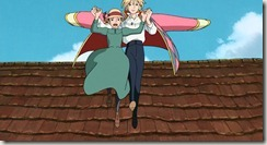 Howls Moving Castle Air Walk