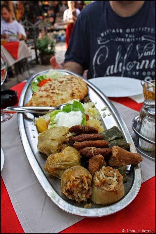 Nacionalna Plate Sadrvan Restaurant Mostar