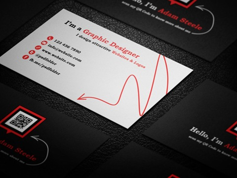 card de negocio