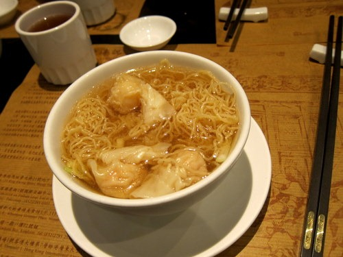 Small House Speciality Shrimp Wonton Noodles in Soup
