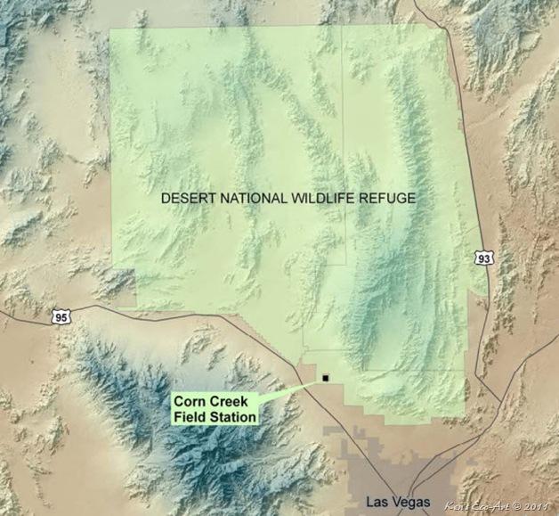 Corn Creek Map