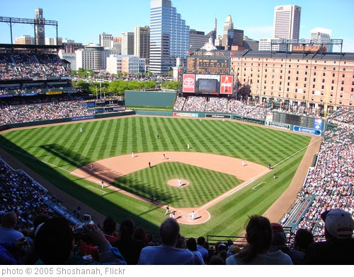 'Camden Yards' photo (c) 2005, Shoshanah - license: https://creativecommons.org/licenses/by/2.0/