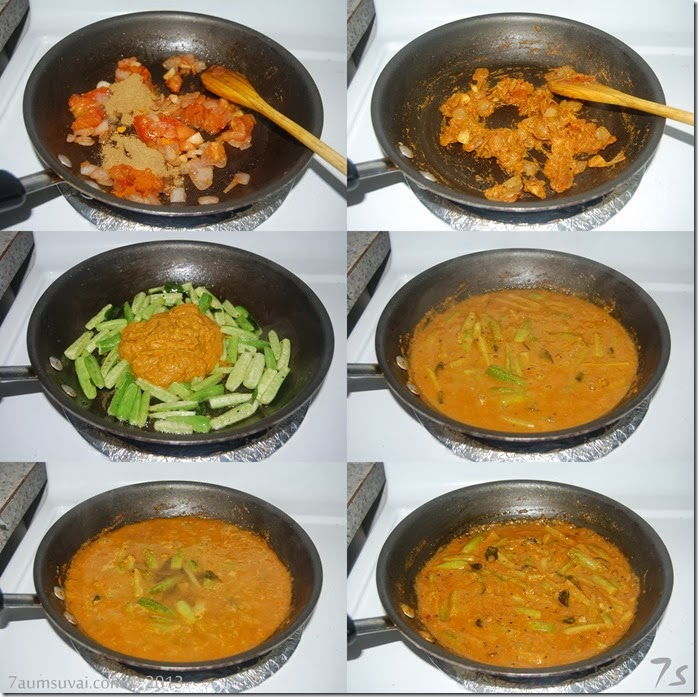 Kovakkai curry process