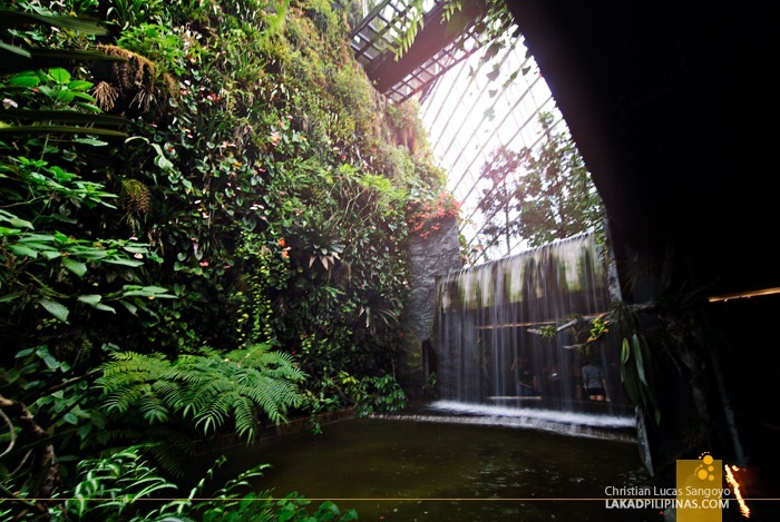 The Cloud Forest's Secret Garden at Gardens by the Bay
