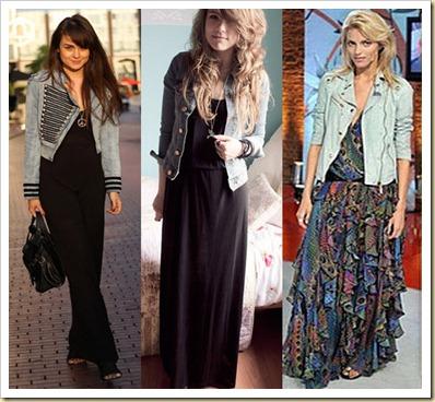 vestido jaqueta jeans