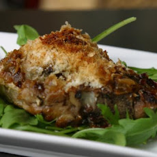 Onion-Herbed Pork Chops With Parmesan