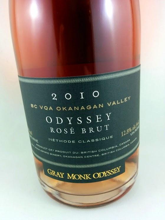 Gray Monk 2010 Odyssey Rose Brut