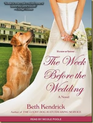 The Week Before the Wedding cover