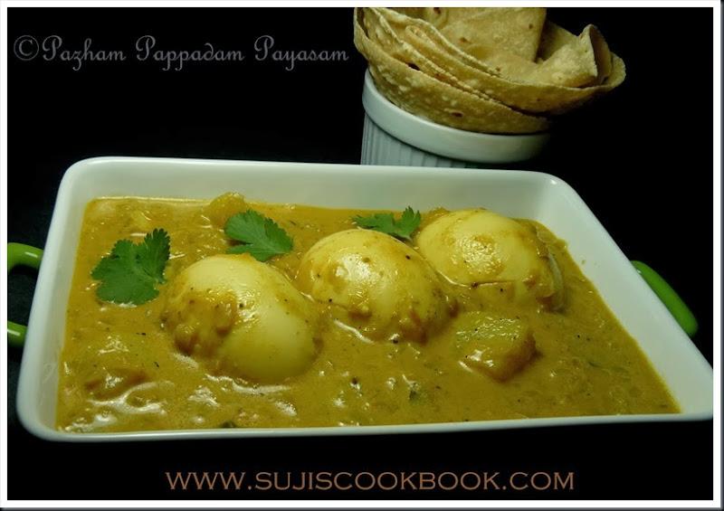 Egg potato kuruma