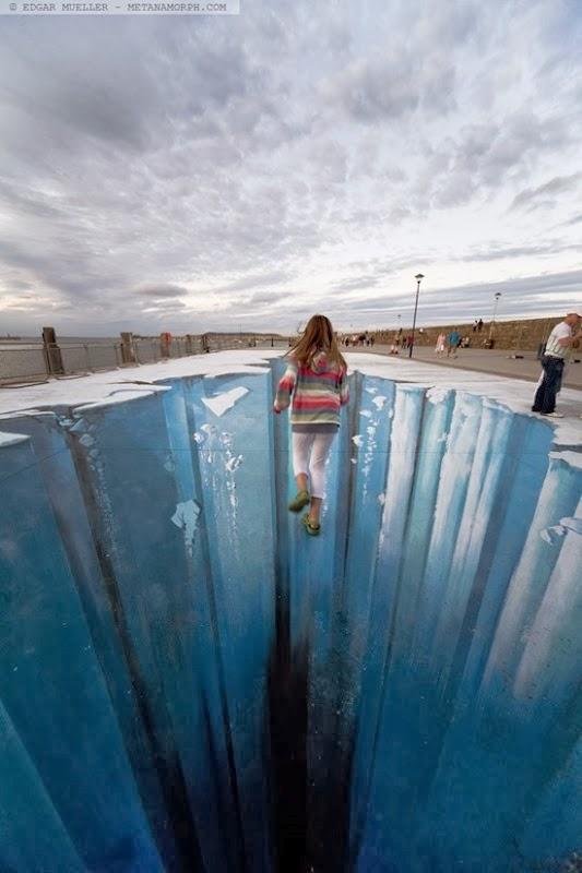 The Crevasse Pavement Art