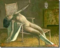balthus-nu-sur-une-chaise-longue-1950