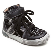 GF Ferre 'GF' Logo High Top TRAINERS