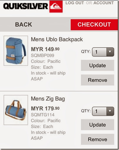 2013.10.08 QS bags checkout cart
