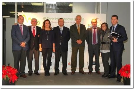 MADRID GOLF 2014 Y Feria del PÁDEL PRO SHOW: El acto ha contado con el apoyo de numerosos medios de comunicación y destacadas personalidades de la industria del golf y del pádel.