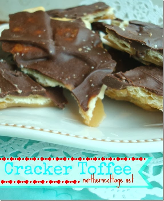 {Northern Cottage} cracker toffee