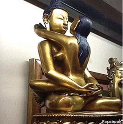 Tượng Phật lạ dưới góc nhìn của giáo sư Mật tông nước ngoài