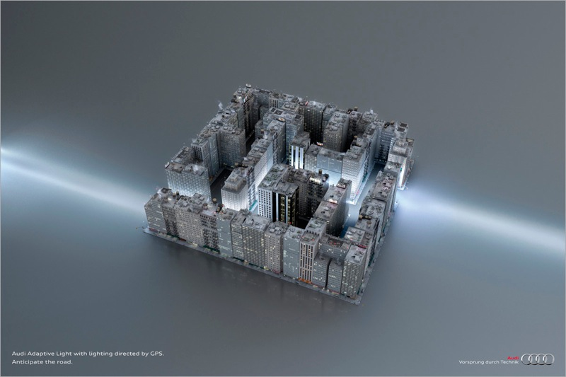 Audi labyrinth