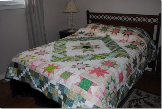 Auntie's Quilt Finished