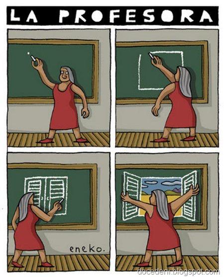 la professoura