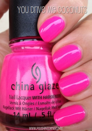 China Glaze You Drive Me Coconuts