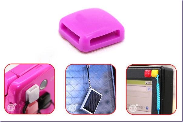 Gum-Acessório-Celular-Pendurar-Strap-Rosa-Monitor-Janela
