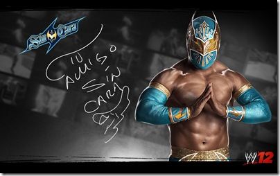 WWE12 SinCara