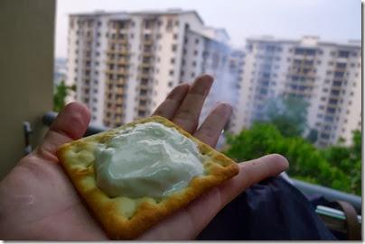 yogurt crackers