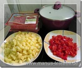 Kochen mit Zutaten