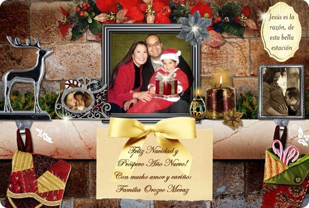 091224 Tarjeta Familiar Navidad 2009