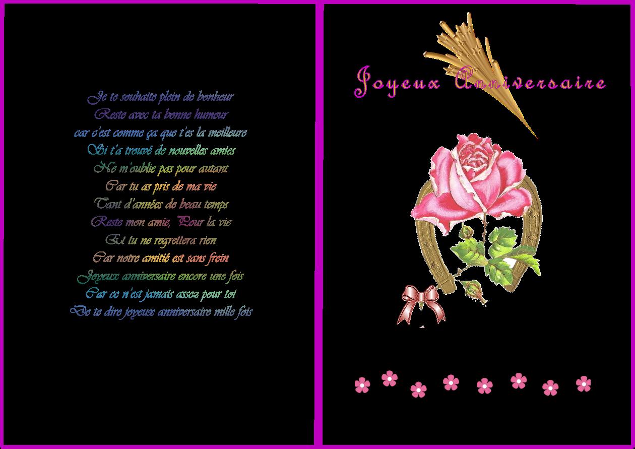 Texte Carte Joyeux Anniversaire Tasyafiolarara Web