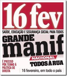 Grande Manif. 16 de Fevereiro. Fev.2013