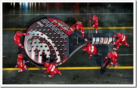 La marca Bullpadel presenta su colección de palas 2012 compuesta por 13 modelos.