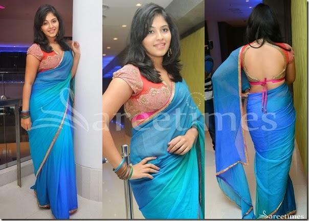 Anjali_Dual_Color_Georgette_Saree