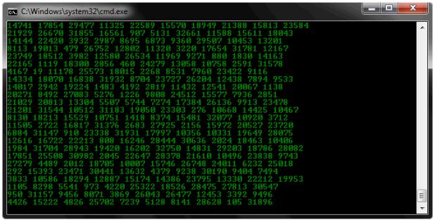 Make Awesome Matrix Effect Through Notepad