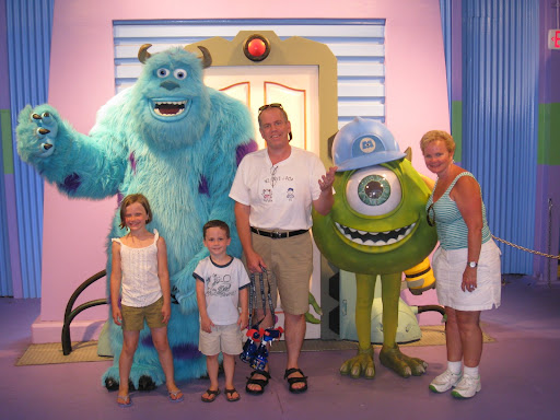 Natalie, Eli, Nagi & JPop with Sulley and Mike