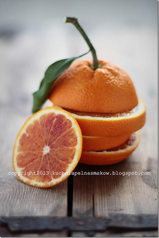 pomarańcza tarocco, sałata, łosoś (2)