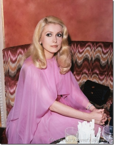 Catherine Deneuve hair