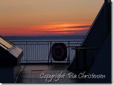 Solopgang på Oslobåden 1.4.2013