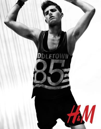 Paolo Anchisi for H&M Season of Sun 2012 ad campaign